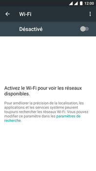 OnePlus 3 - Wifi - configuration manuelle - Étape 4