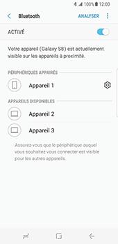 Samsung Galaxy S8 - Bluetooth - connexion Bluetooth - Étape 11