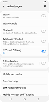 Samsung Galaxy Note9 - Android Pie - Internet und Datenroaming - Deaktivieren von Datenroaming - Schritt 5