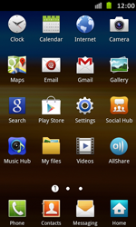 Samsung Galaxy S Advance - Applications - Installing applications - Step 3