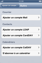 Apple iPhone 3GS - E-mail - Configuration manuelle - Étape 6