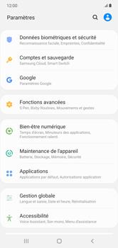 Samsung Galaxy Note 10+ - Sécuriser votre mobile - Personnaliser le code PIN de votre carte SIM - Étape 4