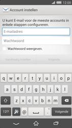 Sony D6503 Xperia Z2 - E-mail - Account instellen (IMAP zonder SMTP-verificatie) - Stap 5