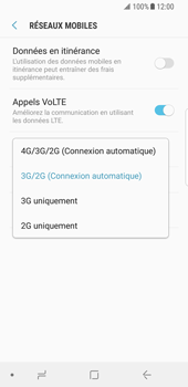 Samsung Galaxy S8 - Android Oreo - Réseau - Activer 4G/LTE - Étape 7