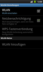 Samsung Galaxy S Plus - WLAN - Manuelle Konfiguration - 2 / 2