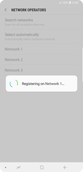 Samsung Galaxy Note9 - Network - Manual network selection - Step 12