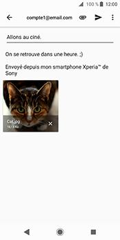 Sony Xperia XZ2 - E-mail - Envoi d