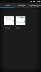 Sony Xperia S - Internet et roaming de données - Navigation sur Internet - Étape 10