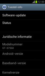 Samsung S7560 Galaxy Trend - Software updaten - Update installeren - Stap 5