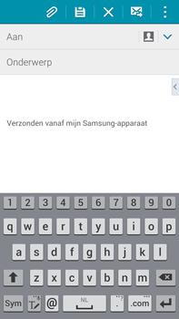 Samsung N910F Galaxy Note 4 - E-mail - E-mails verzenden - Stap 5