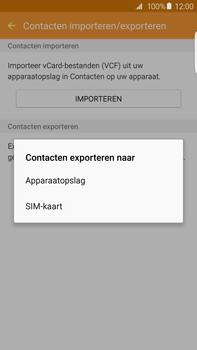 Samsung Galaxy S6 edge+ (SM-G928F) - Contacten en data - Contacten kopiëren van toestel naar SIM - Stap 8