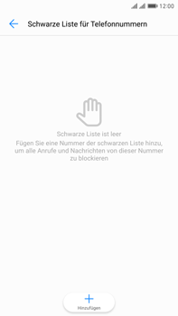 Huawei Mate 9 Pro - Anrufe - Anrufe blockieren - Schritt 7