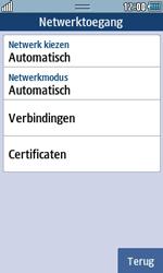 Samsung S7230E Wave TouchWiz - netwerk en bereik - gebruik in binnen- en buitenland - stap 6