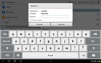 Samsung Galaxy Tab 2 10.1 - WiFi - WiFi-Konfiguration - Schritt 6