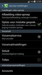 Samsung Galaxy S III Neo (GT-i9301i) - Voicemail - Handmatig instellen - Stap 6