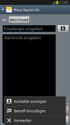Samsung I9300 Galaxy S3 - MMS - Erstellen und senden - Schritt 12