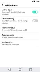 LG G5 SE - Netzwerk - Netzwerkeinstellungen ändern - 7 / 7