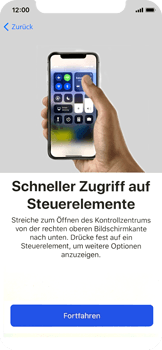 Apple iPhone X - iOS 11 - Persönliche Einstellungen von einem alten iPhone übertragen - 37 / 40