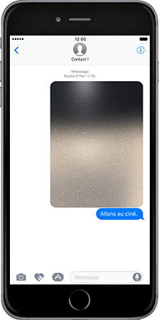 Apple Apple iPhone 7 - iOS features - Fonctions iMessage - Étape 7