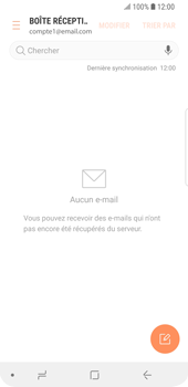 Samsung Galaxy S9 - E-mail - Configuration manuelle - Étape 15