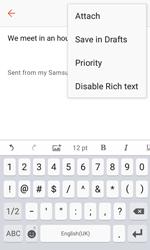 Samsung G389 Galaxy Xcover 3 VE - E-mail - Sending emails - Step 11