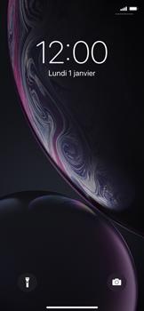 Apple iPhone XR - Téléphone mobile - Comment effectuer une réinitialisation logicielle - Étape 4