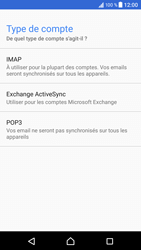Sony Xperia XZ (F8331) - Android Nougat - E-mail - Configuration manuelle - Étape 11