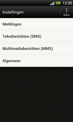 HTC T320e One V - SMS - Handmatig instellen - Stap 4