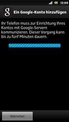 Sony Xperia U - Apps - Konto anlegen und einrichten - Schritt 16