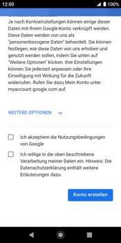Sony Xperia XZ2 - Android Pie - Apps - Konto anlegen und einrichten - Schritt 16