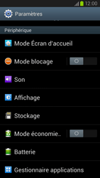 Samsung Galaxy S III LTE - Applications - Comment désinstaller une application - Étape 4
