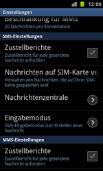 Samsung Galaxy Ace 2 - SMS - Manuelle Konfiguration - 0 / 0