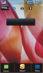 Samsung S5620 Monte - SMS - configuration manuelle - Étape 1