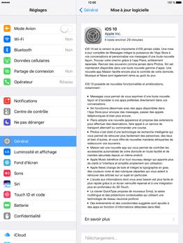 Apple iPad Mini 3 iOS 10 - Appareil - Mises à jour - Étape 6