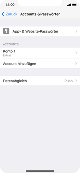 Apple iPhone X - E-Mail - Konto einrichten - 2 / 2
