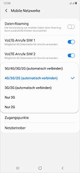 Samsung Galaxy Note 20 Ultra 5G - Netzwerk - So aktivieren Sie eine 5G-Verbindung - Schritt 7