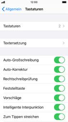 Apple iPhone SE - iOS 13 - Startanleitung - So fügen Sie eine Tastatursprache hinzu - Schritt 5