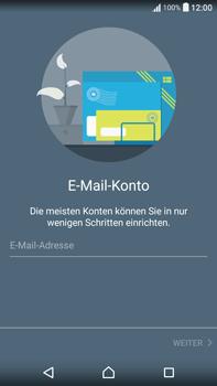 Sony F3211 Xperia XA Ultra - E-Mail - Konto einrichten - Schritt 6