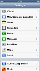 Apple iPhone 5 - E-mail - Manual configuration IMAP without SMTP verification - Step 4