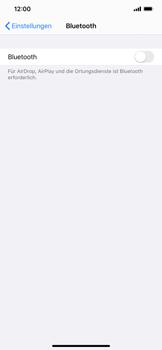 Apple iPhone XS Max - iOS 13 - Bluetooth - Verbinden von Geräten - Schritt 6