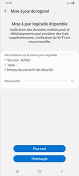 Samsung Galaxy A70 - Logiciels - Installation de mises à jour - Étape 7