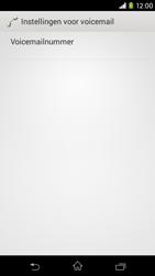 Sony Xperia M2 - voicemail - handmatig instellen - stap 10
