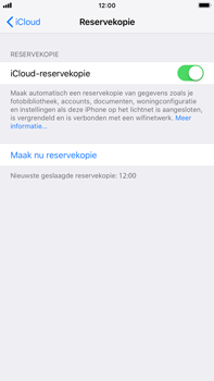 Apple iPhone 6 Plus - iOS 12 - toestel resetten - back-up maken met jouw account - stap 14
