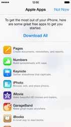 Apple iPhone 5c - Applications - setting up the application store - Step 3