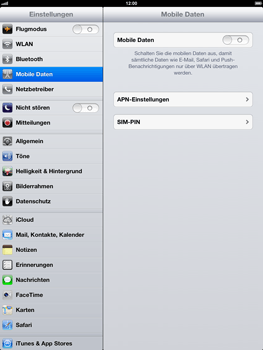 Apple iPad 4 - Internet - Apn-Einstellungen - 0 / 0