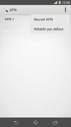 Sony C6903 Xperia Z1 - Internet - Configuration manuelle - Étape 10