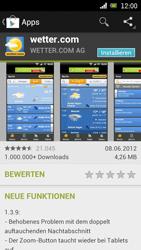 Sony Ericsson Xperia Ray mit OS 4 ICS - Apps - Herunterladen - Schritt 13