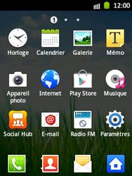 Samsung S5300 Galaxy Pocket - Messagerie vocale - Configuration manuelle - Étape 3