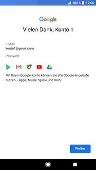 Sony Xperia XZ2 Premium - Apps - Konto anlegen und einrichten - Schritt 17