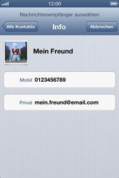 Apple iPhone 4 - MMS - Erstellen und senden - Schritt 8